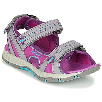 Παπούτσια Κορίτσι Σπορ σανδάλια Merrell PANTHER SANDAL 2.0 Ροζ / Grey