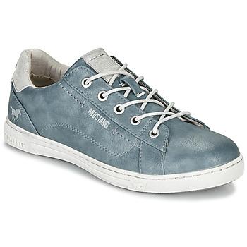 Παπούτσια Γυναίκα Χαμηλά Sneakers Mustang 1349301-875 Μπλέ