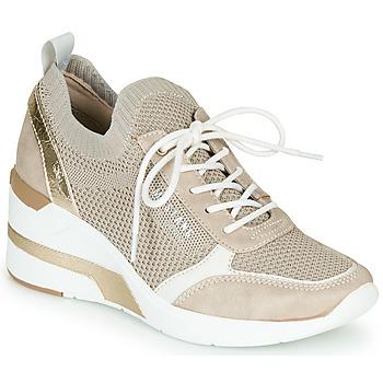 Παπούτσια Γυναίκα Χαμηλά Sneakers Mustang 1303303-4 Beige