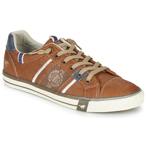 Παπούτσια Άνδρας Χαμηλά Sneakers Mustang 4072308-307 Cognac