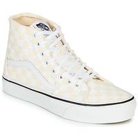 Παπούτσια Γυναίκα Ψηλά Sneakers Vans SK8-Hi Tapered Ροζ / Άσπρο