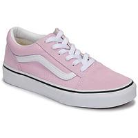 Παπούτσια Κορίτσι Χαμηλά Sneakers Vans OLD SKOOL Ροζ