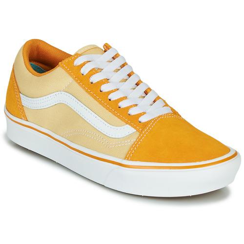 Παπούτσια Γυναίκα Χαμηλά Sneakers Vans COMFYCUSH OLD SKOOL Yellow