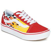 Παπούτσια Αγόρι Χαμηλά Sneakers Vans COMFYCUSH OLD SKOOL Red / Yellow