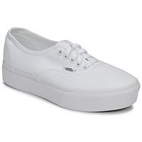 Παπούτσια Γυναίκα Χαμηλά Sneakers Vans Authentic Platform 2.0 Άσπρο