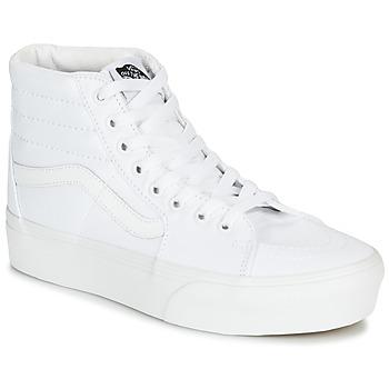 Παπούτσια Γυναίκα Ψηλά Sneakers Vans SK8-Hi Platform 2.0 Άσπρο
