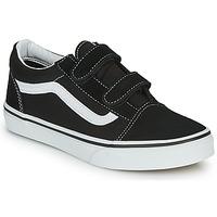Παπούτσια Παιδί Χαμηλά Sneakers Vans JN Old Skool V Black / Άσπρο