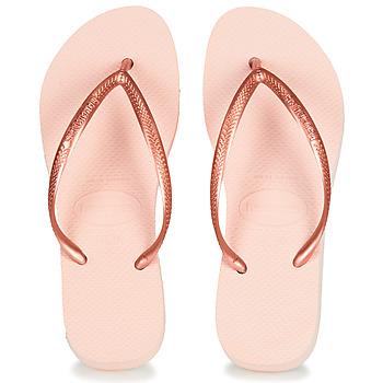 Παπούτσια Γυναίκα Σαγιονάρες Havaianas SLIM FLATFORM Ballet / Ροζ