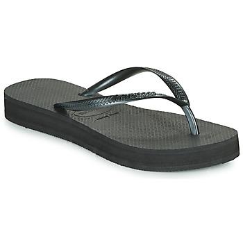 Παπούτσια Γυναίκα Σαγιονάρες Havaianas SLIM FLATFORM Black