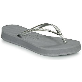 Παπούτσια Γυναίκα Σαγιονάρες Havaianas SLIM FLATFORM Grey