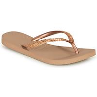 Παπούτσια Γυναίκα Σαγιονάρες Havaianas SLIM GLITTER Ροζ / Χρυσο