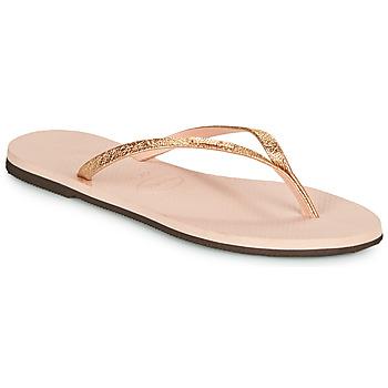Παπούτσια Γυναίκα Σαγιονάρες Havaianas YOU SHINE Ροζ
