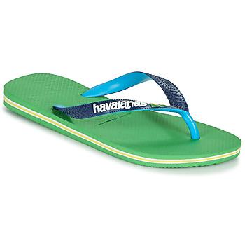 Παπούτσια Σαγιονάρες Havaianas BRASIL MIX Green / Μπλέ