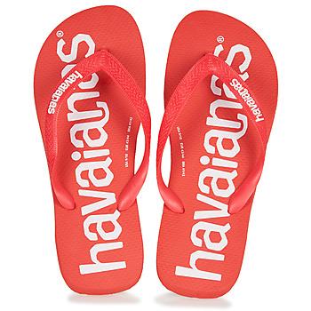 Παπούτσια Άνδρας Σαγιονάρες Havaianas TOP LOGOMANIA Red