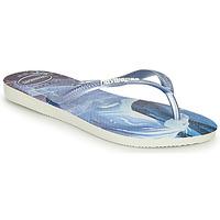 Παπούτσια Κορίτσι Σαγιονάρες Havaianas KIDS SLIM FROZEN Μπλέ