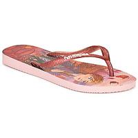 Παπούτσια Κορίτσι Σαγιονάρες Havaianas KIDS SLIM FROZEN Ροζ