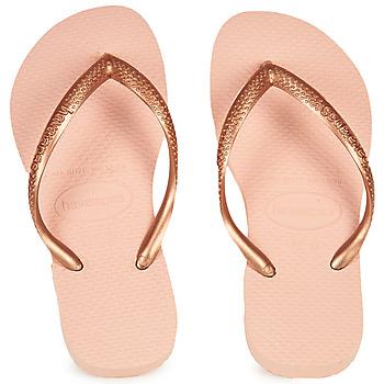 Παπούτσια Κορίτσι Σαγιονάρες Havaianas SLIM Ροζ