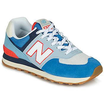 Παπούτσια Χαμηλά Sneakers New Balance 574 Mπλε / Γκρι / Orange