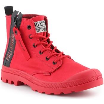 Παπούτσια Άνδρας Ψηλά Sneakers Palladium Pampa Unzipped 76443-614-M red