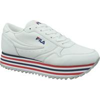 Παπούτσια Γυναίκα Χαμηλά Sneakers Fila Orbit Zeppa Stripe Wmn Blanc