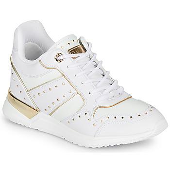 Παπούτσια Γυναίκα Χαμηλά Sneakers Guess FL5REJ-ELE12-WHITE Άσπρο