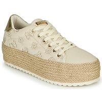 Παπούτσια Γυναίκα Χαμηλά Sneakers Guess MARILYN Beige
