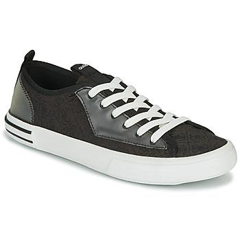 Παπούτσια Άνδρας Χαμηλά Sneakers Guess NETTUNO LOW Black / Grey