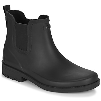 Παπούτσια Γυναίκα Μπότες βροχής Aigle CARVILLE Black
