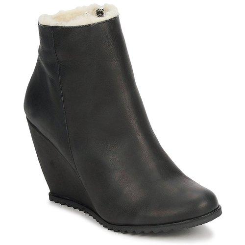 Παπούτσια Γυναίκα Μποτίνια D.Co Copenhagen SALLY ZIPPER Μαυρο