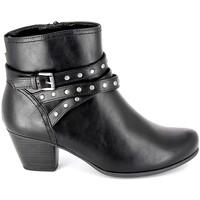 Παπούτσια Γυναίκα Μποτίνια Jana Boots 25362-23 Noir Black