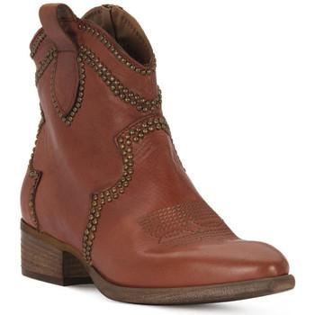 Παπούτσια Γυναίκα Μποτίνια Priv Lab ROSSO BUFALO Rosso
