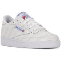 Παπούτσια Άνδρας Χαμηλά Sneakers Reebok Sport CLUB C 85 EL Bianco