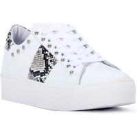 Παπούτσια Γυναίκα Χαμηλά Sneakers At Go GO GALAXY BIANCO Bianco