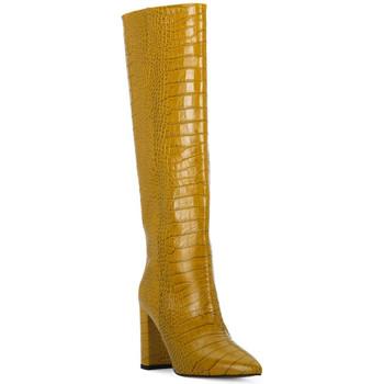 Παπούτσια Γυναίκα Μπότες για την πόλη Priv Lab OCRA COCCO Giallo