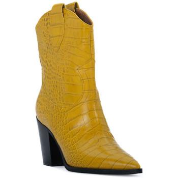 Παπούτσια Γυναίκα Μποτίνια Priv Lab OCRA COCCO Giallo