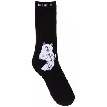 Αξεσουάρ Άνδρας Κάλτσες Ripndip Lord nermal socks Μαύρο