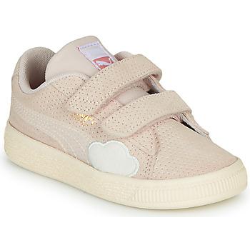Παπούτσια Κορίτσι Χαμηλά Sneakers Puma SUEDE Ροζ