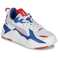 Παπούτσια Παιδί Χαμηλά Sneakers Puma RS-X Άσπρο / Μπλέ / Red