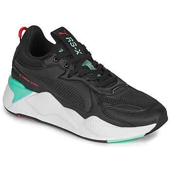 Παπούτσια Άνδρας Χαμηλά Sneakers Puma RS-X Black / Ασπρό