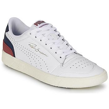 Παπούτσια Άνδρας Χαμηλά Sneakers Puma RALPH SAMPSON Άσπρο / Marine / Bordeaux