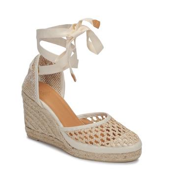 Παπούτσια Γυναίκα Σανδάλια / Πέδιλα Castaner CAROLA Κρεμ