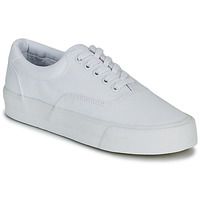Παπούτσια Γυναίκα Χαμηλά Sneakers Superdry CLASSIC LACE UP TRAINER Άσπρο