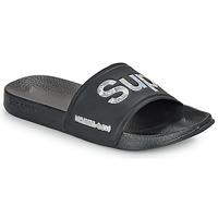 Παπούτσια Γυναίκα σαγιονάρες Superdry HOLO INFIL POOL SLIDE Black