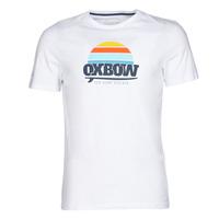 Υφασμάτινα Άνδρας T-shirt με κοντά μανίκια Oxbow M1TEKSO Άσπρο