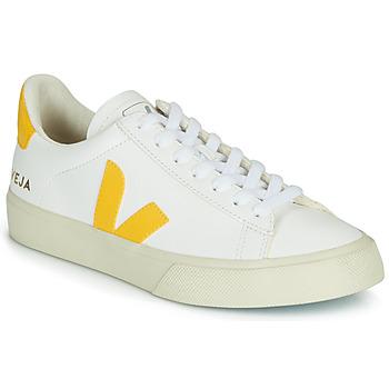 Παπούτσια Γυναίκα Χαμηλά Sneakers Veja CAMPO Άσπρο / Yellow