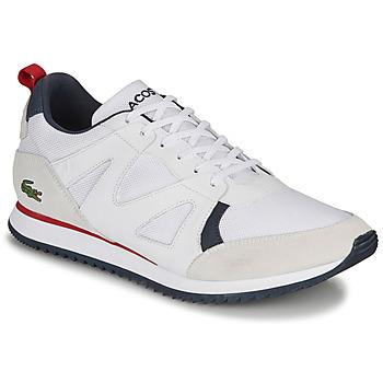Παπούτσια Άνδρας Χαμηλά Sneakers Lacoste AESTHET 120 2 SMA Άσπρο / Μπλέ / Red
