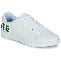 Παπούτσια Άνδρας Χαμηλά Sneakers Lacoste CARNABY EVO 120 7 US SMA Άσπρο / Green