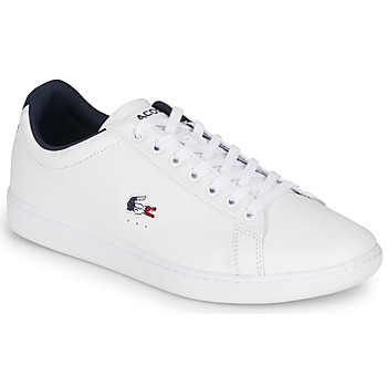 Παπούτσια Άνδρας Χαμηλά Sneakers Lacoste CARNABY EVO TRI1 SMA Άσπρο