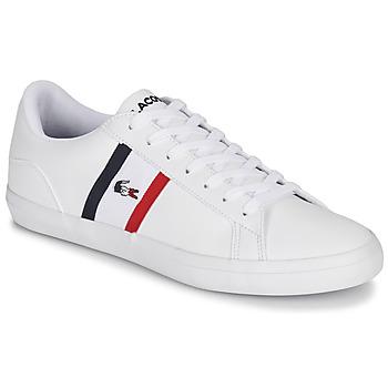 Παπούτσια Άνδρας Χαμηλά Sneakers Lacoste LEROND TRI1 CMA Άσπρο / Μπλέ / Red