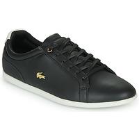 Παπούτσια Γυναίκα Χαμηλά Sneakers Lacoste REY LACE 120 1 CFA Black / Άσπρο